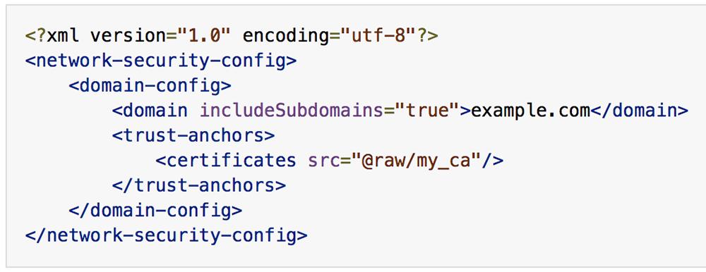 Configuring a custom CA