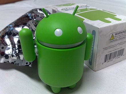 Android Bugdroid Green