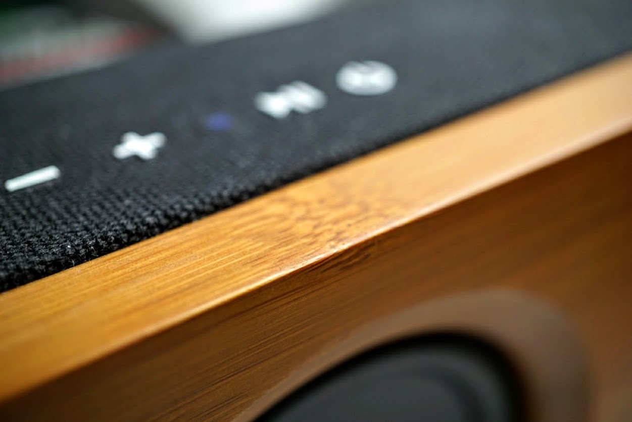 ARCHEER 25W Bamboo Stereo 2 1 Bluetooth Speaker (review)