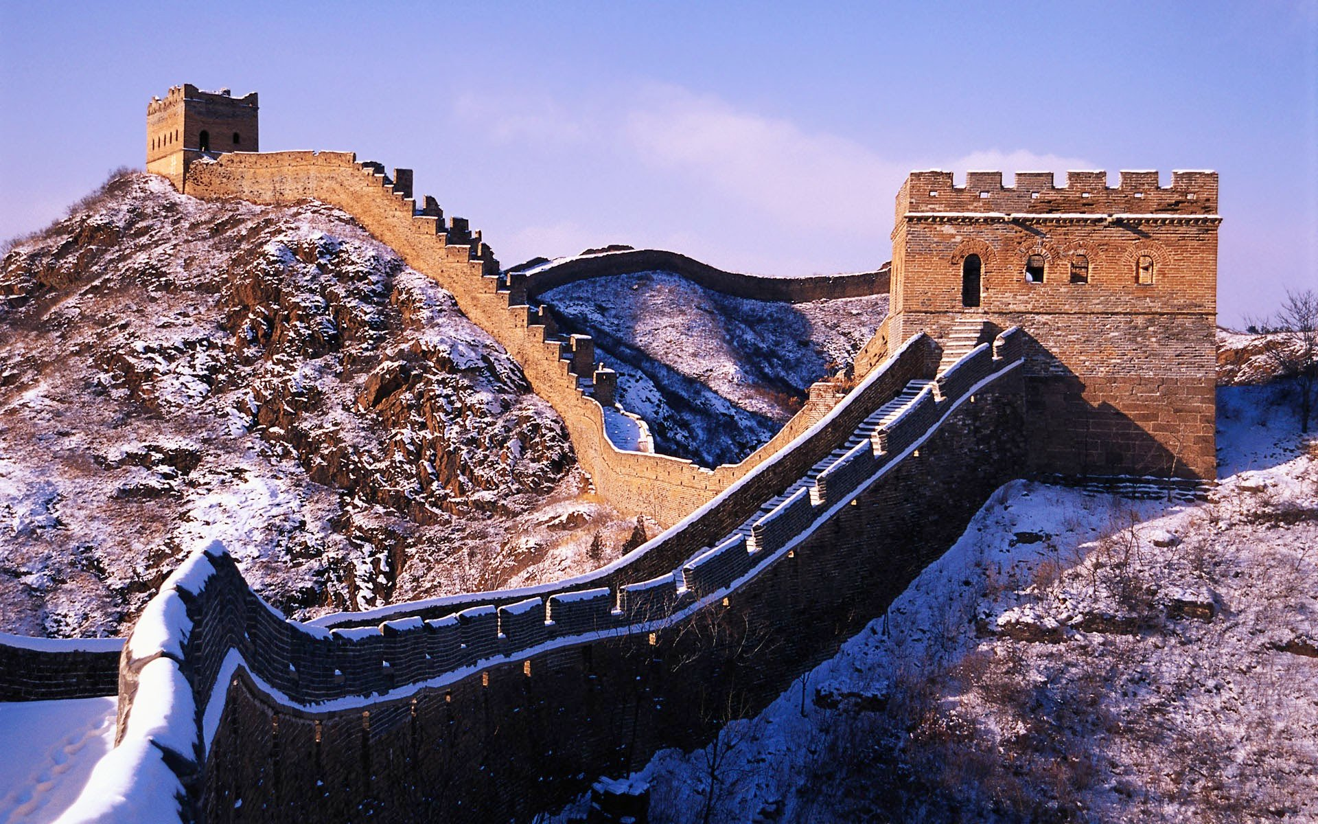Snow on the Great Wall