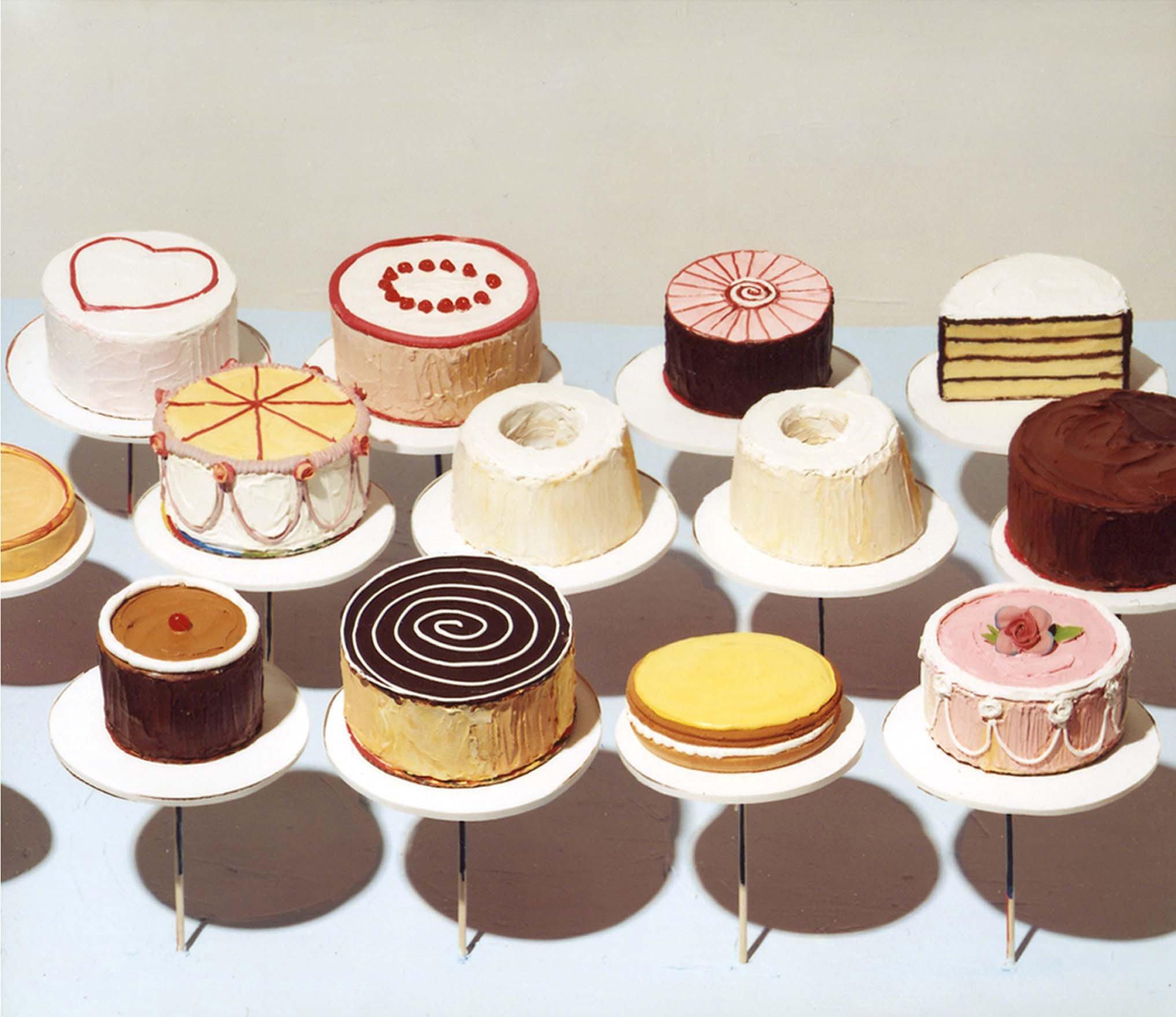 wayne-thiebaud-cakes-1963