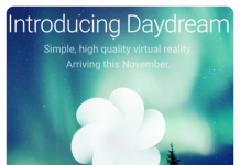 google daydream welcome