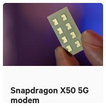 snapdragon x50 5g modem