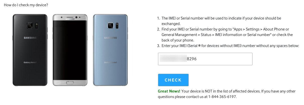 Samsung Note 7 Explosion