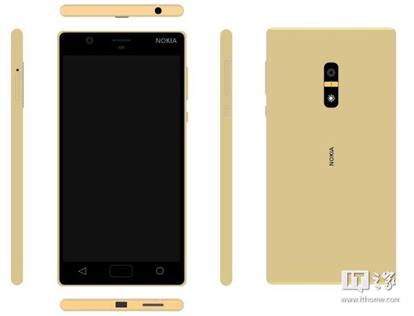 nokia-android-phone-render-gold