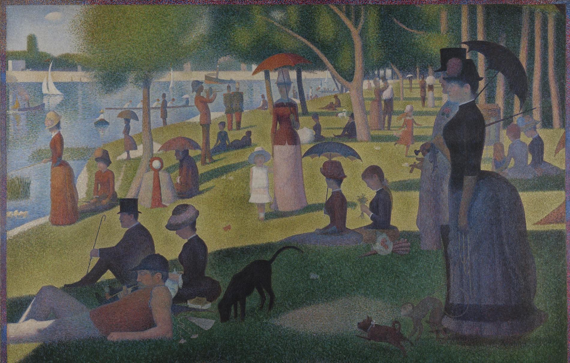 A Sunday on La Grande Jatte Georges Seurat1884-1886