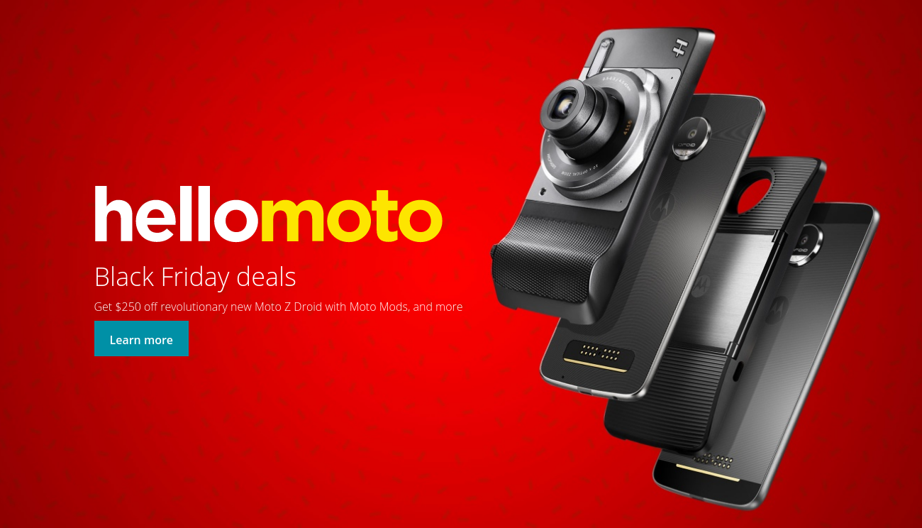 Motorola Shaves 250 Off Phones With Motomods For Black Friday