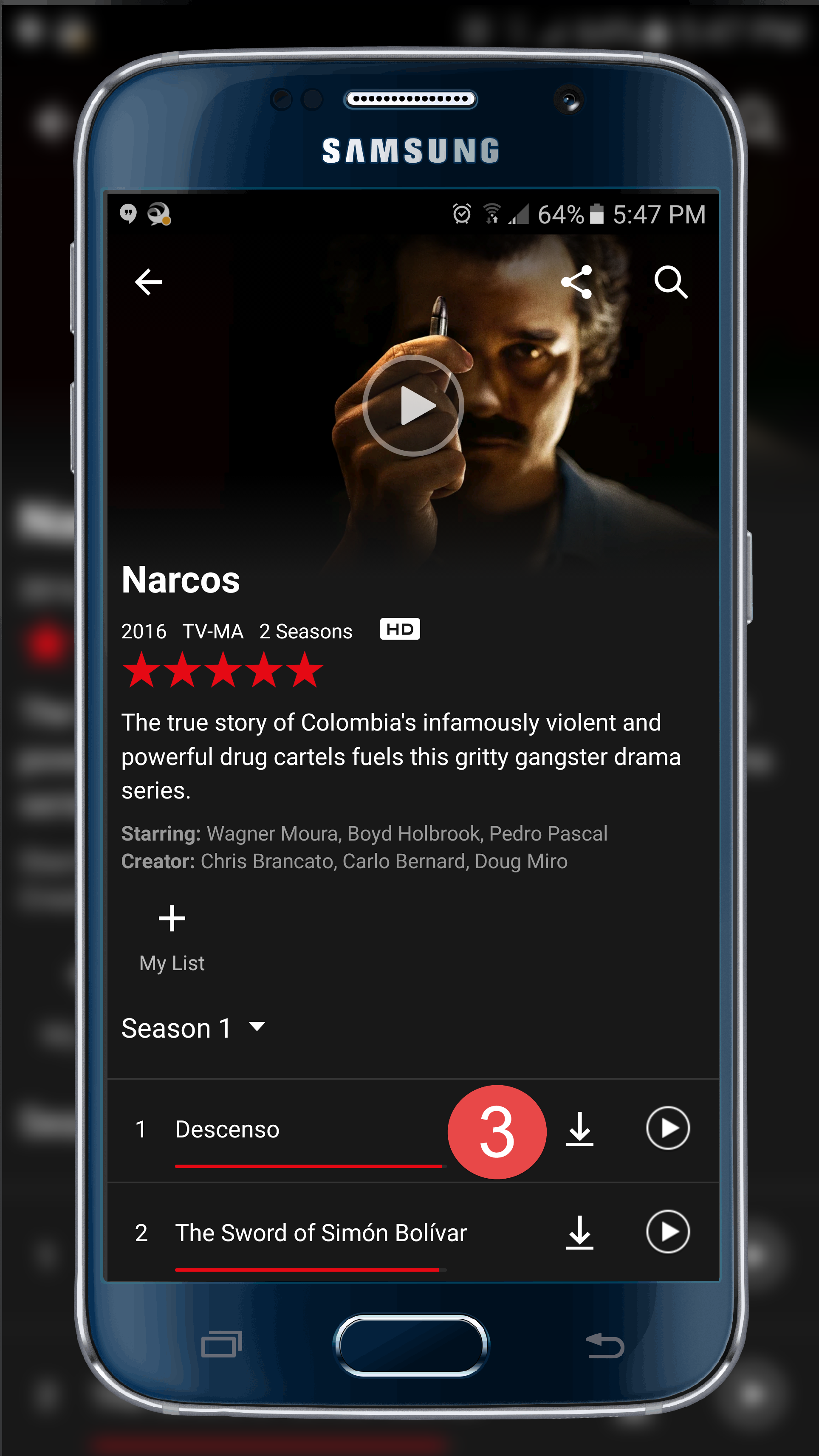 Stretch your Netflix subscription by downloading videos to