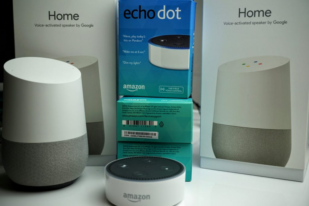 Bunch of Connected Home Accessories