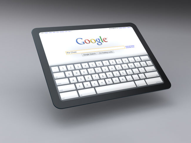Chrome OS Tablet Older Concept
