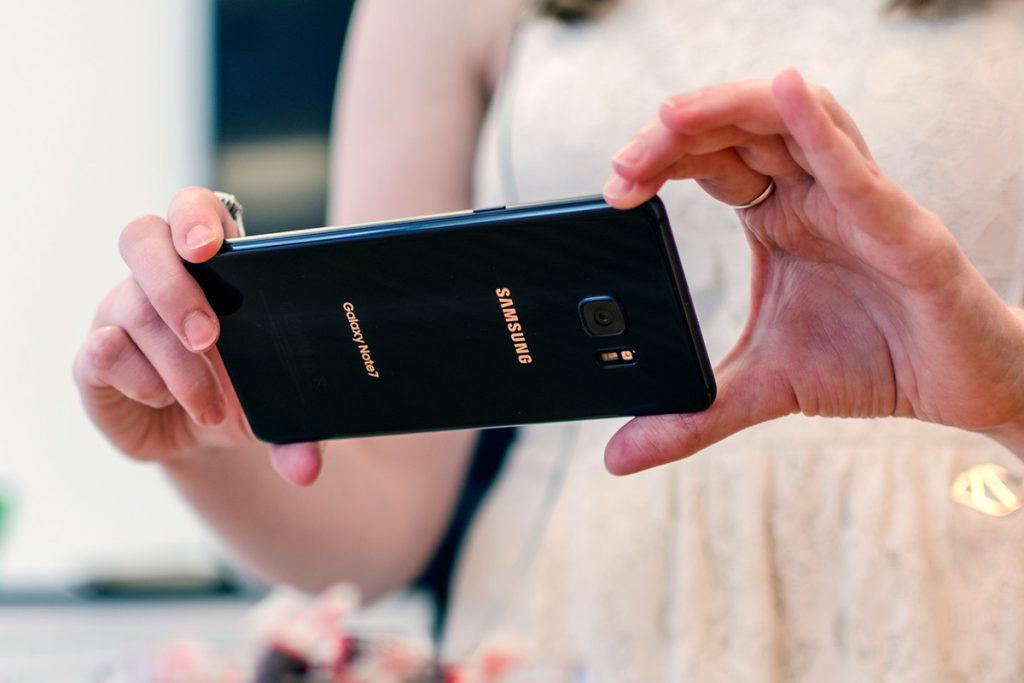 Galaxy Note7 camera