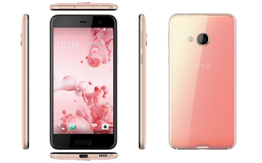 HTC U Play Pink
