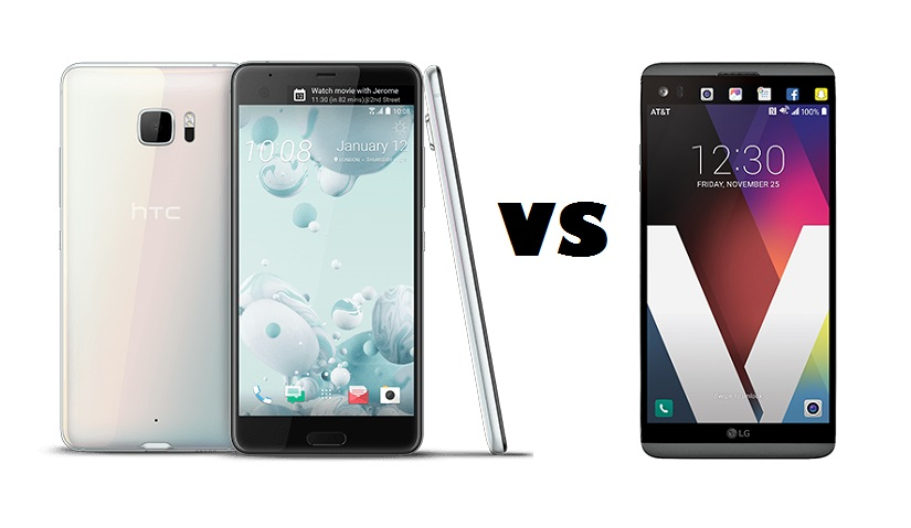 HTC U Ultra vs LG V20 (Smartphone Showdown)