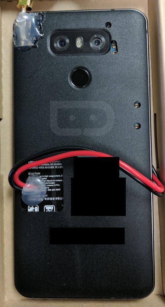 LG G6 Prototype Back