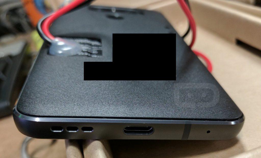 LG G6 Prototype Lower View