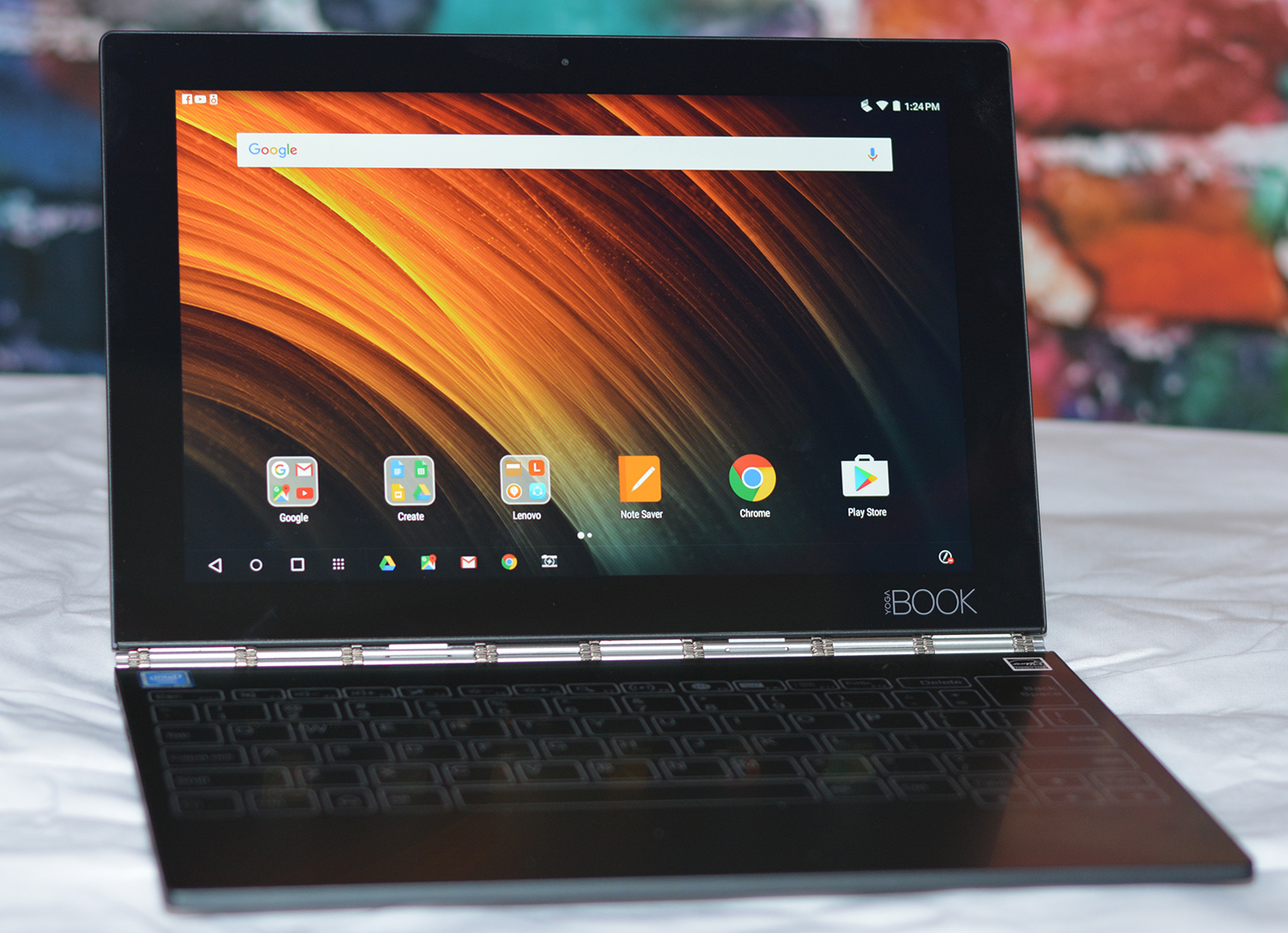 Lenovo Yoga Book Display