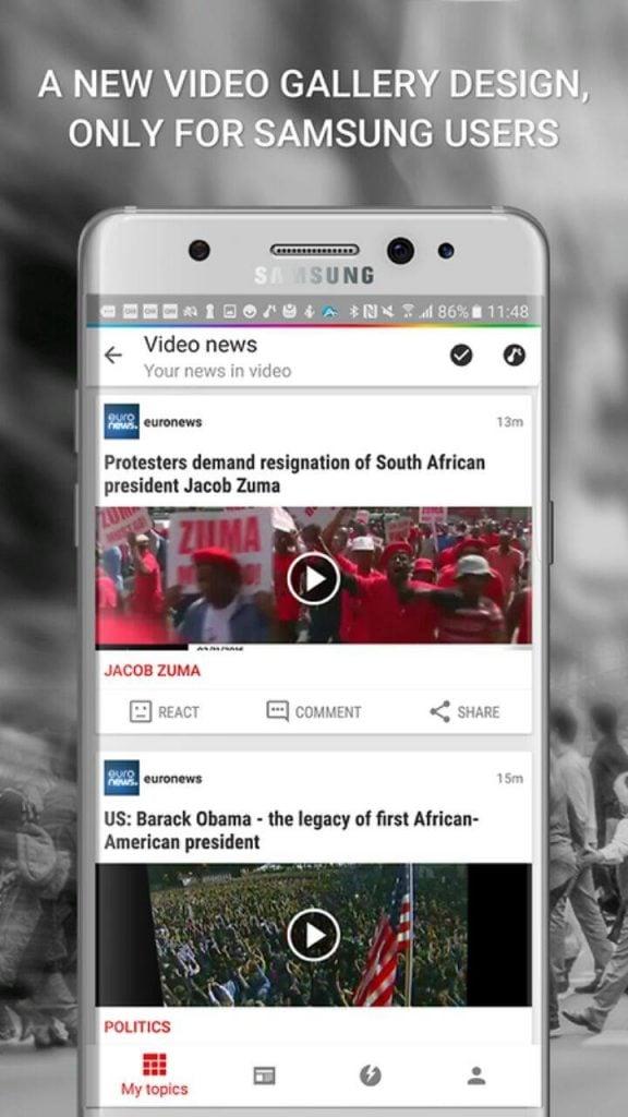 News Republic App for Samsung 3