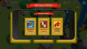 The cards that appear in the middle of the fight add depth to the gameplay.