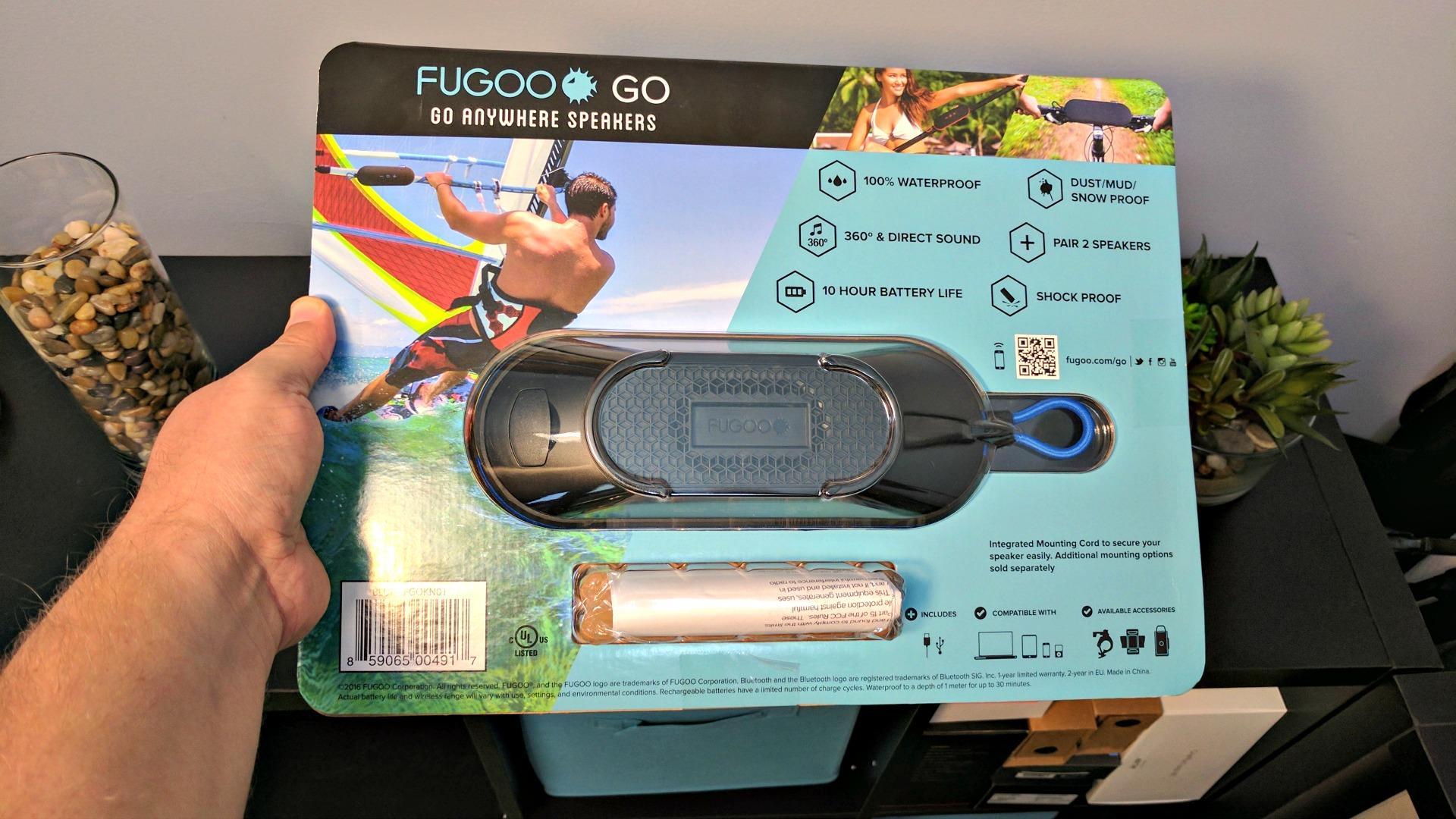 Fugoo Go Review A Portable Go Anywhere Speaker