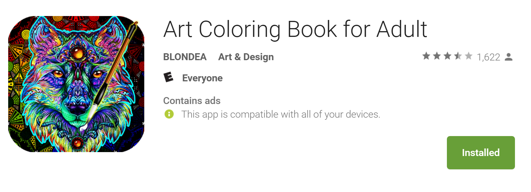 Art Coloring Book For Adults Offers Stress Relief But Bring Your Stylus Review