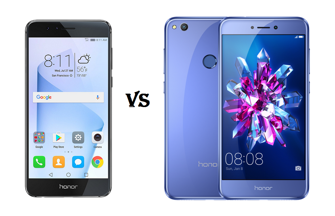 What's the difference: Honor 8 vs Honor 8 Lite