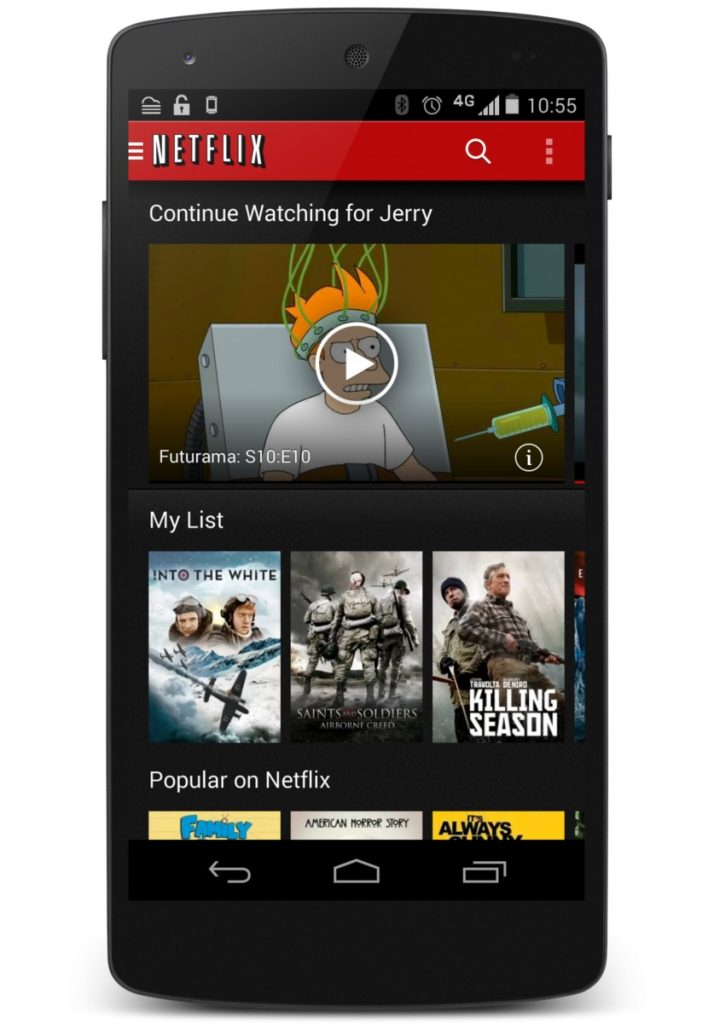 Netflix Android