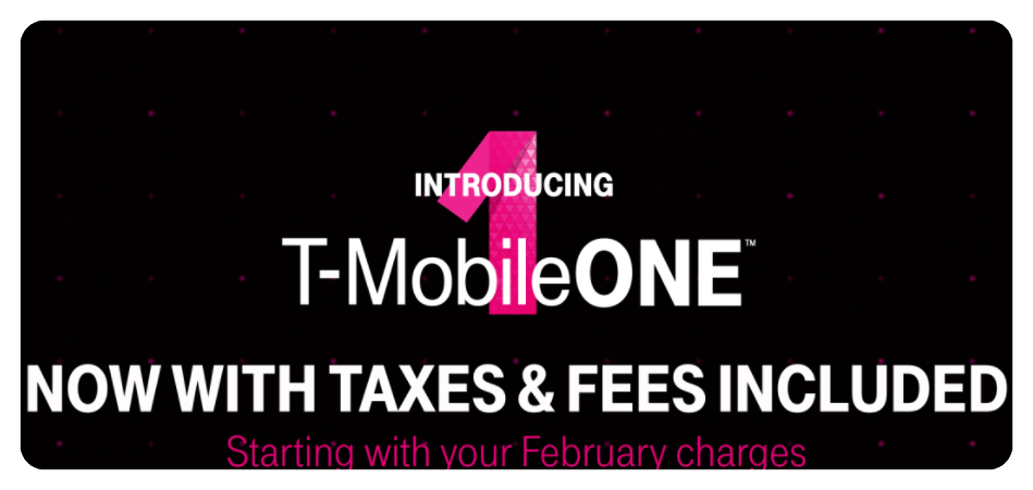 t mobile one