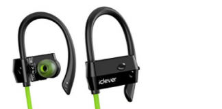 iclever headphones green