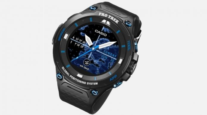 Casio Pro Trek WSD-F20S Smart, a Smartwatch Edition Limited with Android Wear 2.0
