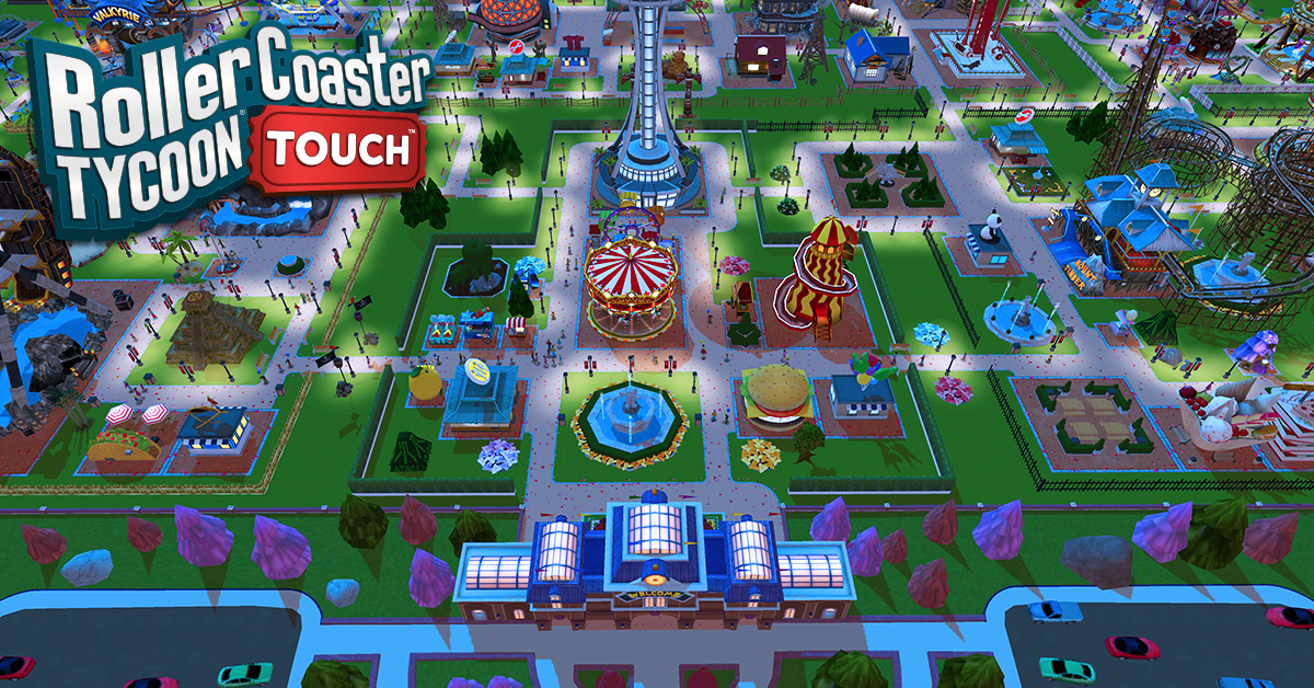 Atari's RollerCoaster Tycoon Touch for Android is now