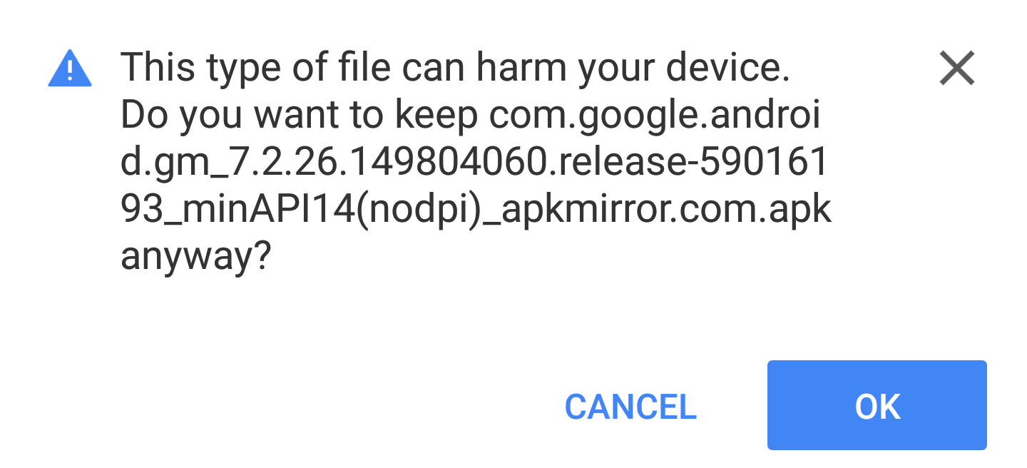 How to 'Sideload' APK files on Android with confidence