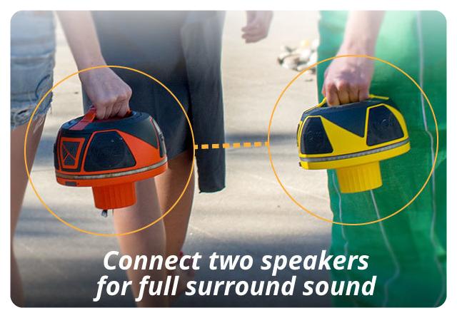 wow sound speaker pair