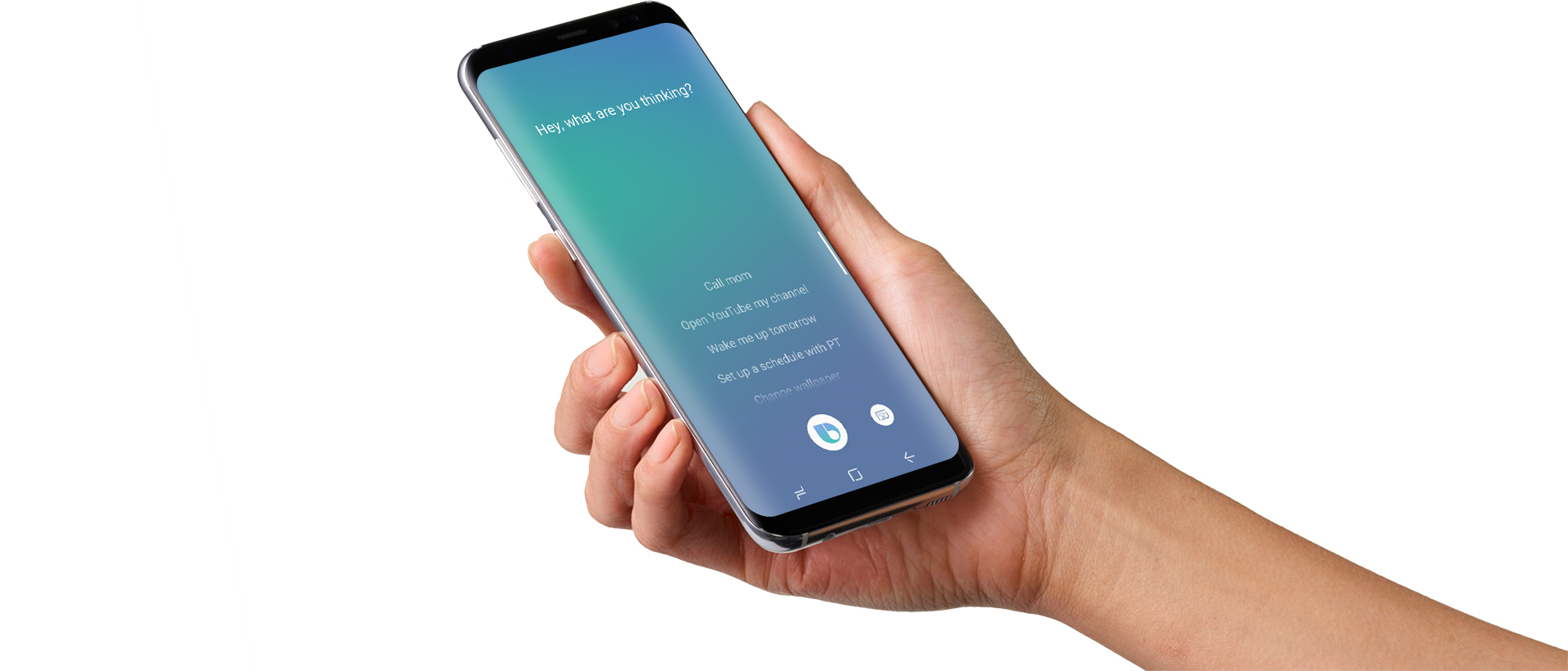 Some users experiencing a broken Bixby button on the Galaxy S8
