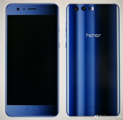 Render of the Honor 9