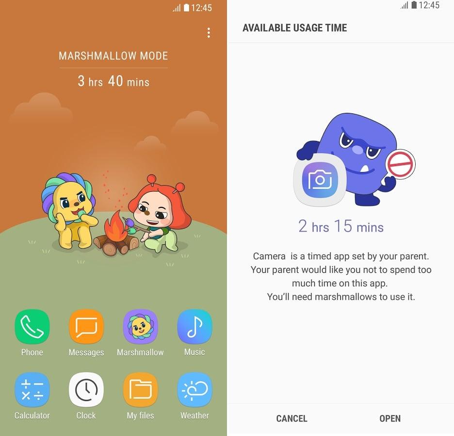 Samsung parental control