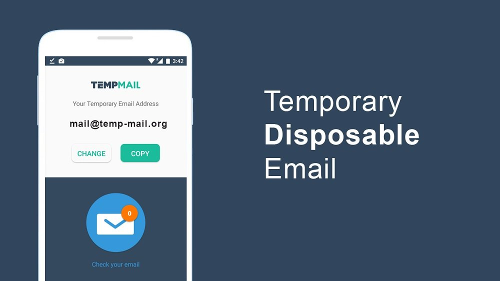 Temp Mail is a disposable email service that helps you keep your