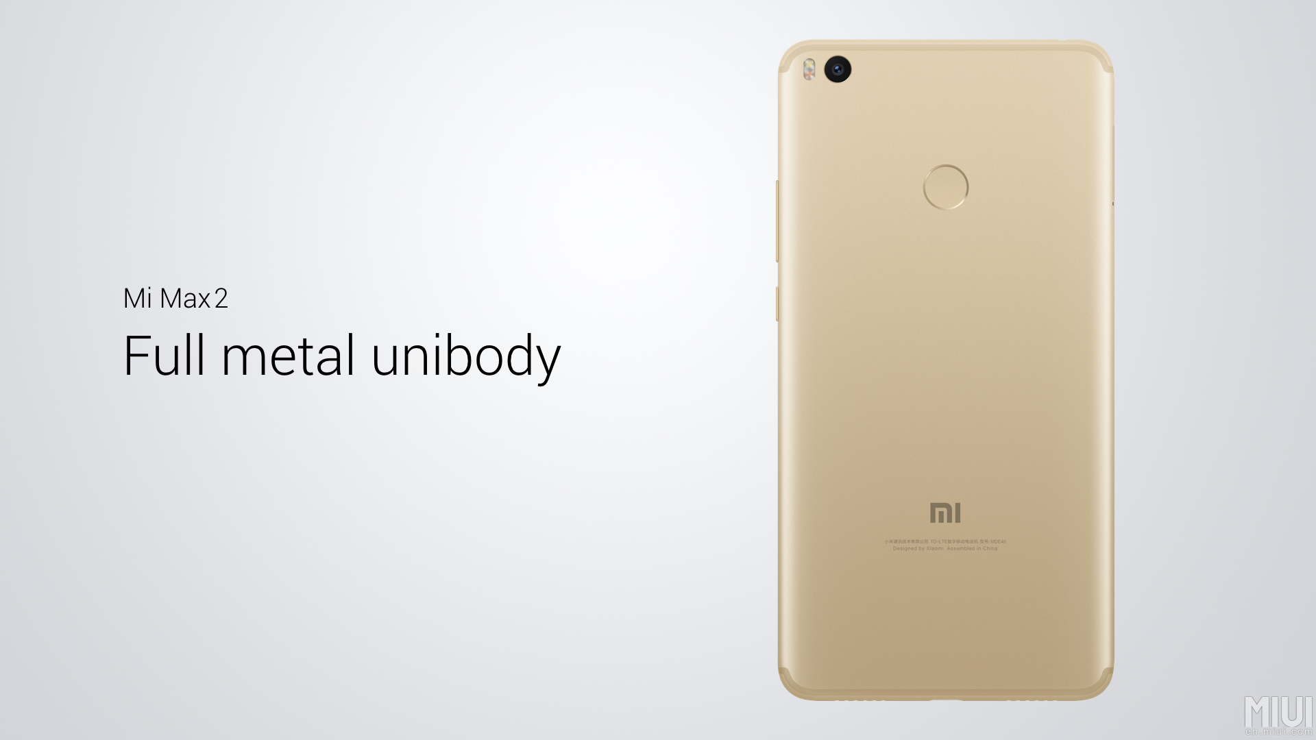 xiaomi mi max 2 mid ranger with a full metal body and huge 5 300 mah battery