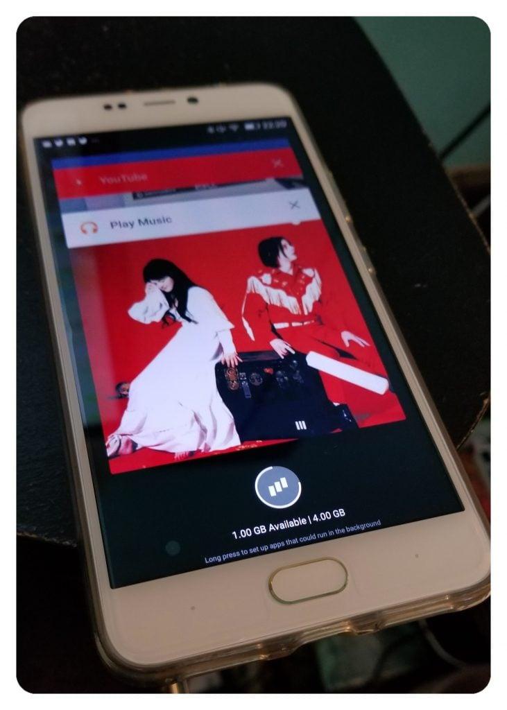 vivo 8 app memory
