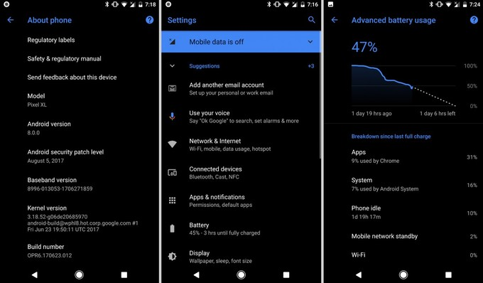 Custom themes in Android 8 0 Oreo might not require rooting