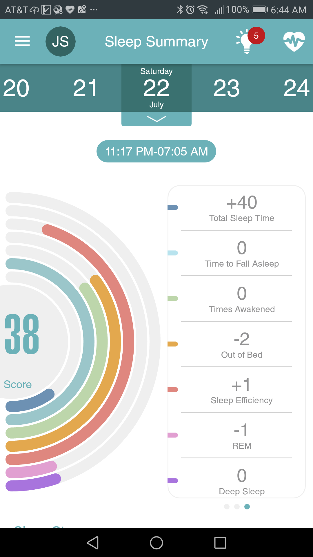 Live by EarlySense will tell you how good (or bad) your sleep is