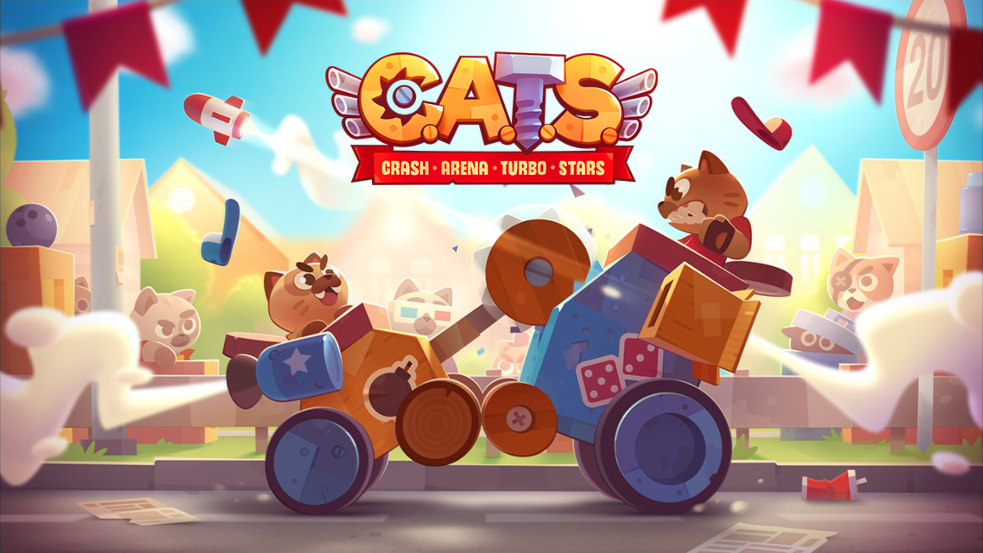 Image result for CATS: Crash Arena Turbo Stars android game download
