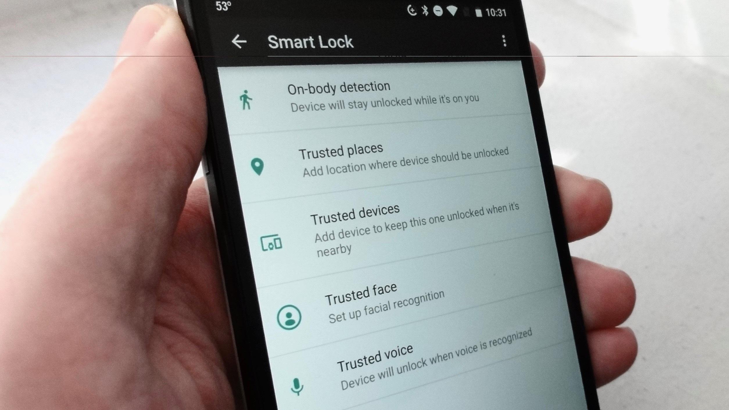 Hasil gambar untuk smart lock android
