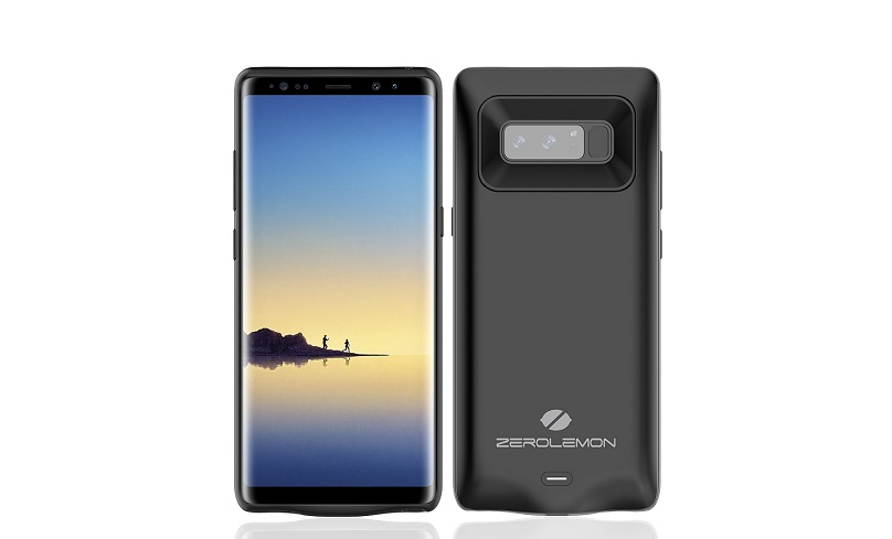 quality design 81bce 99864 ZeroLemon intros Samsung Galaxy Note 8 case for double the battery life