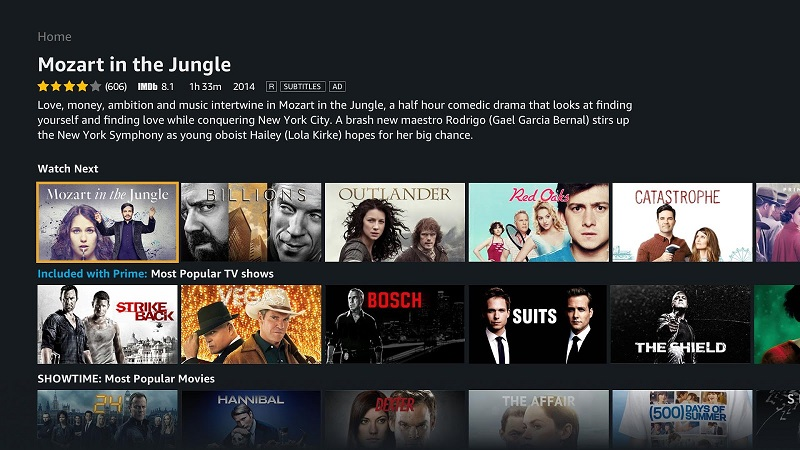 Amazon's Prime Video app for Android TV lands in the Play