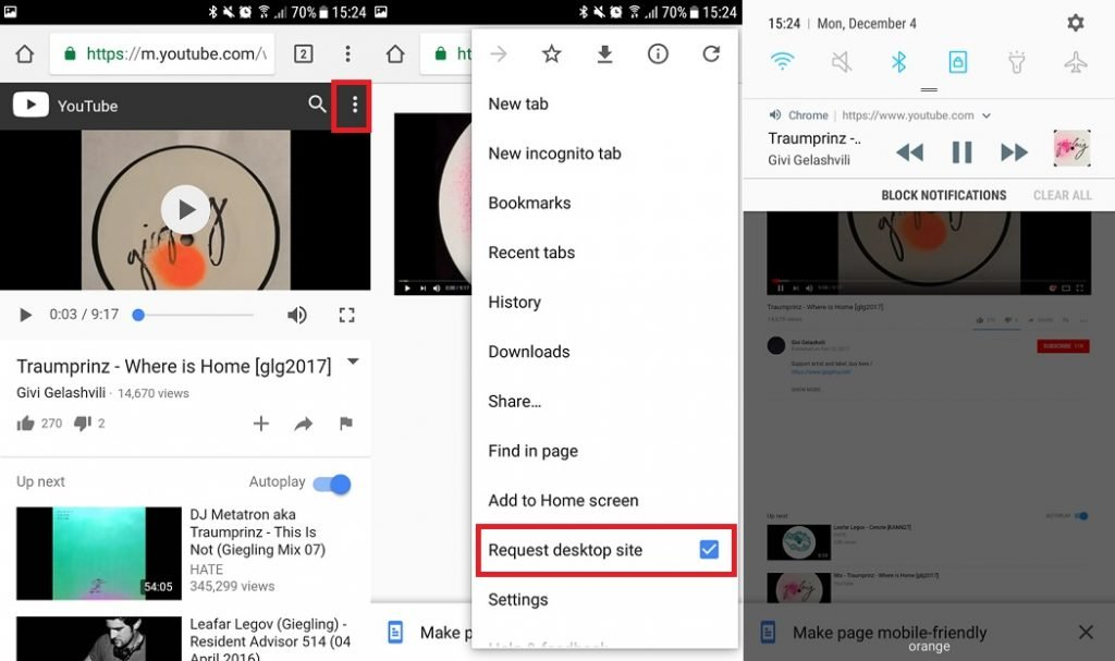 How to play YouTube in the background of your phone