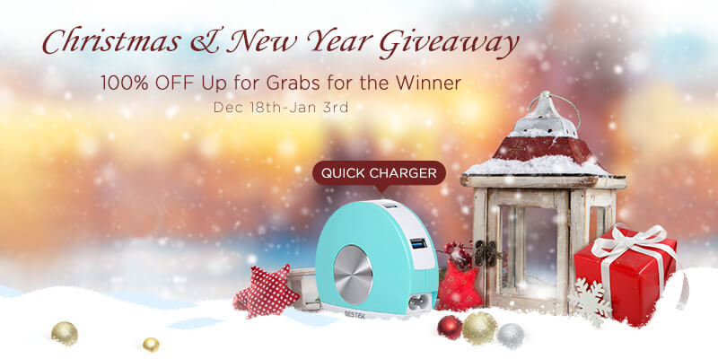 Bestek Christmas And New Year Giveaway 1 500 In Gift Cards And 100