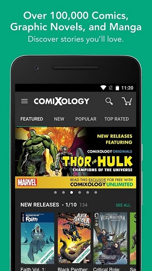 Best apps for reading comic books and visual novels on Android