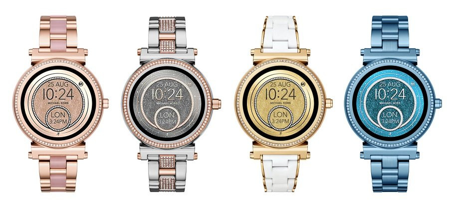 1e95d6d0d6e3d The fashion brand just unveiled its Spring 2018 collection which includes  quite a few new options under the Michael Kors Access line of smartwatches.