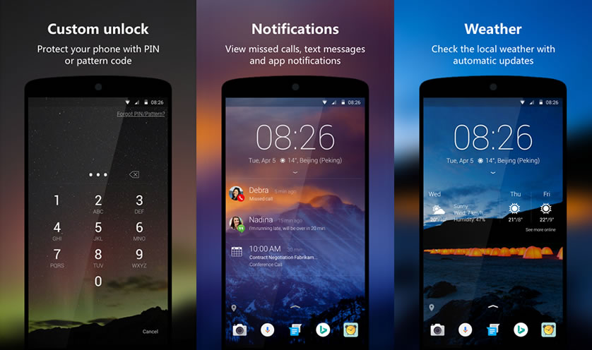 5 Of The Best Android Lock Screen Replacement Apps