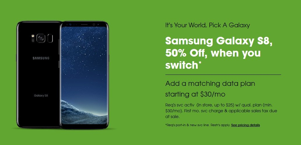 Cricket Wireless Allows Switchers To Buy The Galaxy S8 At